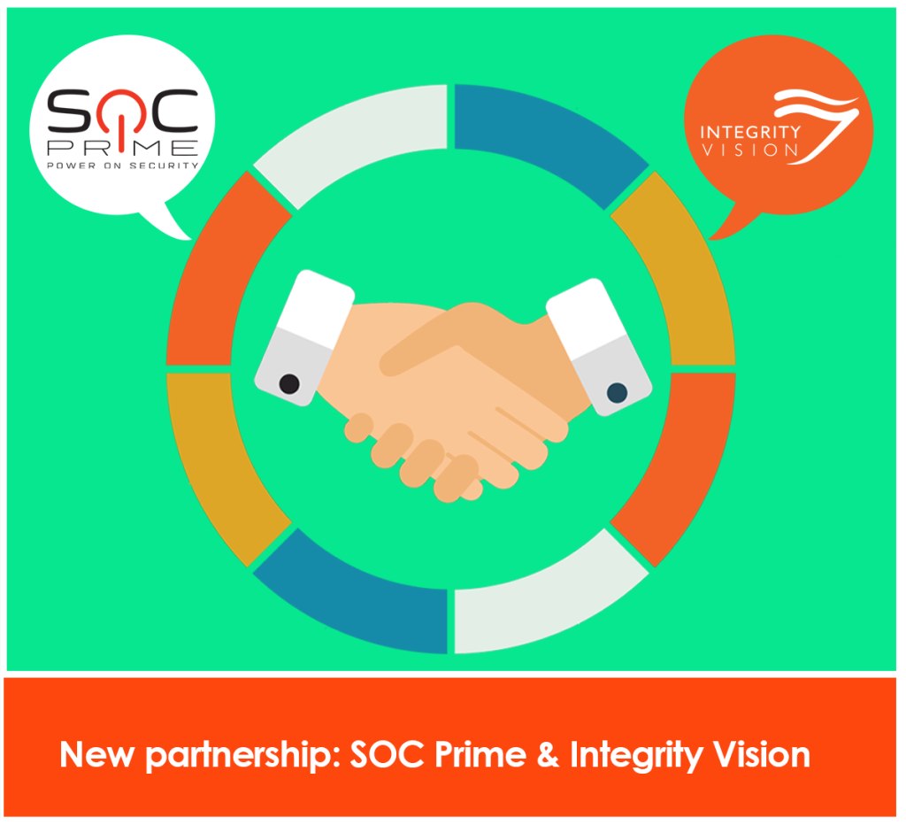 Partnership_SOCPrime_IntegrityVision